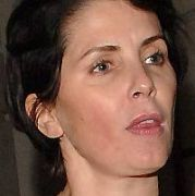 Sadie frost leaving the Dorchester with mysterious white blob up her nose<br />