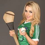 Miss Bikini Ireland Judy Fitzgerald gears-up to support her home team Limerick this Sunday in the Munster Hurling Semi-Finals as they take on Tipperary. Judy who is a big fan of the GAA will be attending the game with full green colours to show her support, Dublin, Ireland - 17.06.15. Pictures: Jason Sibley / VIPIRELAND.COM