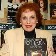 Stock Images of Maureen O'Hara taken in Dublin in 2004, Dublin, Ireland - 2004. Pictures: G. McDonnell / VIPIRELAND.COM **IRISH RIGHTS ONLY**