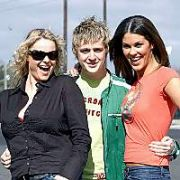 Irish celebs join Linders Lotus and Mondello Park DRIVE in aid of the Tsunami disaster victims funds raised will be given to Habitat for Humanity a housing charity, Modello, Dublin, Ireland March 25 2005. Winners: 1st George McMahon, 2nd Conor Lenihan TD, 3rd Glenda Gilson and 4th Amanada Brunker. Also there Tamara Gervasoni,  Marisa Mackel and Tara Flynn.