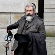 Mel Gibson, Steve Coogan & Laurence Fox film The Professor and the Madman on location at King's Inn, Dublin, Ireland - 23.11.16. Pictures: Cathal Burke / VIPIRELAND.COM **IRISH RIGHTS ONLY**