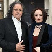 Folk legend Donovan and his granddaughter Coco Sian (daughter of Shaun Ryder) hold an art exhibition together called 'A Family Affair' at The Origin Gallery on Fitzwilliam Square, Dublin, Ireland - 06.04.17. Pictures: Cathal Burke / VIPIRELAND.COM **IRISH RIGHTS ONLY**