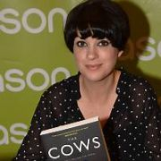 Dawn O'Porter signs her book The Cows at Easons O'Connell Street, Dublin, Ireland - 08.04.17. Pictures: Cathal Burke / VIPIRELAND.COM **IRISH RIGHTS ONLY**