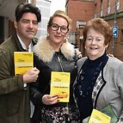 Newstalk Book Club reviewers Brian Kennedy, Katherine Lynch and Mary O'Rourke seen leaving the studios and Jenny Buckley spotted at Today FM, Dublin, Ireland - 13.04.17. Pictures: Cathal Burke / VIPIRELAND.COM **IRISH RIGHTS ONLY**