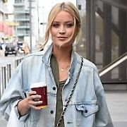 Laura Whitmore arrives at the Bord Gais Energy Theatre for the opening night of the play in which she stars Not Dead Enough, Dublin, Ireland - 18.04.17. Pictures: Cathal Burke / VIPIRELAND.COM **IRISH RIGHTS ONLY**
