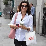 Deirdre O'Kane spotted at Stephen's Green Shopping Centre, Dublin, Ireland - 13.06.17. Pictures: Cathal Burke / VIPIRELAND.COM **IRISH RIGHTS ONLY**