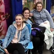 Harry Styles fans begin camping outside Stephen's Green Shopping Centre ahead of tickets for his 16 April 2018 3Arena show going on sale tomorrow morning, Dublin, Ireland - 15.06.17. Pictures: Cathal Burke / VIPIRELAND.COM **IRISH RIGHTS ONLY**