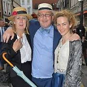 Dubliners & James Joyce fans alike attend the second 2nd 'Moments of Joyce' Festival for Bloomsday 2017 at the Duke Gallery and Red Bank Wine Tavern, Dublin, Ireland - 16.06.17. Pictures: Jerry McCarthy / VIPIRELAND.COM **IRISH RIGHTS ONLY**