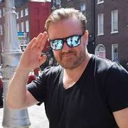 Ricky Gervais arrives at The Merrion Hotel ahead of his concert in the 3Arena tomorrow night, Dublin, Ireland - 24.06.17. Pictures: Cathal Burke / VIPIRELAND.COM **IRISH RIGHTS ONLY**