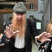 ZZ Top's Billy Gibbons refuses to sign autographs after the band's two other members, Dusty Hill & Frank Beard, had signed memorabilia at their hotel. Billy told fans to