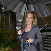 Micheal O'Muircheartaigh is a guest for Kathryn Thomas as she steps in for the Ray Darcy Radio Show, RTE, Dublin, Ireland - 14.08.17. Pictures: Cathal Burke / VIPIRELAND.COM **IRISH RIGHTS ONLY**