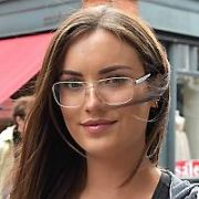 Holly Carpenter spotted wearing glasses at the Goerges Street Arcade, Dublin, Ireland - 15.08.17. Pictures: Cathal Burke / VIPIRELAND.COM **IRISH RIGHTS ONLY**