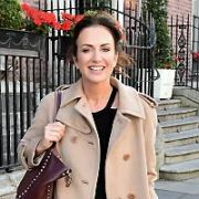 Lorraine Keane spotted outside The Merrion Hotel, Dublin, Ireland - 02.10.17. Pictures: Cathal Burke / VIPIRELAND.COM **IRISH RIGHTS ONLY**