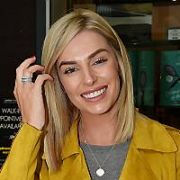 Pippa O'Connor gets a new hair style at Peter Mark St Stephens Green Shopping Centre, Dublin, Ireland - 12.10.17. Pictures: Cathal Burke / VIPIRELAND.COM **IRISH RIGHTS ONLY**