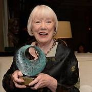 Dublin Theatre Festival pays tribute to two theatre legends, actress Rosaleen Linehan and her late husband, playwright Fergus Linehan, for their outstanding contribution to theatre at festival Gala Night in The Westbury Hotel, Dublin, Ireland - 12.10.17. Pictures: G. McDonnell / VIPIRELAND.COM **IRISH RIGHTS ONLY**