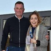 Dublin Ladies GAA player Sinead Finnegan & GAA head coach Mick Bohan at RTE's Ray Darcy Radio show to talk about their RTE documentary Blues Sisters, Dublin, Ireland - 27.11.17. Pictures: Cathal Burke / VIPIRELAND.COM **IRISH RIGHTS ONLY**