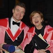 Brian O'Driscoll is recognised by Trinity College along with five other pre-eminent individuals with honorary doctorates awarded by Chancellor of the University Mary Robinson, Dublin, Ireland - 08.12.17. Pictures: Cathal Burke / VIPIRELAND.COM **IRISH RIGHTS ONLY**