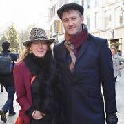 Katherine Lynch & boyfriend Declan Wynne spotted on Grafton Street, Dublin, Ireland - 08.12.17. Pictures: Cathal Burke / VIPIRELAND.COM **IRISH RIGHTS ONLY**