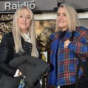 ITV Love Island DJs Lisa Macfarlane & Alana Macfarlane aka The Mac Twins seen leaving RTE Radio Centre after appearing on the Eoghan McDermott Radio Show, Dublin, Ireland - 23.01.18. Pictures: Cathal Burke / VIPIRELAND.COM **IRISH RIGHTS ONLY**
