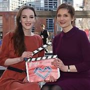 Actress Ann Skelly & Oscar nominated animator Nora Twomey launch the Audi Dublin International Film Festival (ADIFF) 2018 at The Lighthouse Cinema, Dublin, Ireland - 24.01.18. Pictures: Cathal Burke / VIPIRELAND.COM **IRISH RIGHTS ONLY**