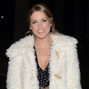Amy Huberman & guests at The Late Late Show, RTE, Dublin, Ireland - 26.01.18. Pictures: G. McDonnell / VIPIRELAND.COM **IRISH RIGHTS ONLY**