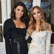 Lauren Pope joins Suzanne Jackson at Cliff Townhouse on St Stephen's Green where Suzanne was hosting a breakfast, Dublin, Ireland - 02.02.18. Pictures: Cathal Burke / VIPIRELAND.COM **IRISH RIGHTS ONLY**