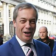 Nigel Farage arrives at The Merrion Hotel, Dublin, Ireland - 02.02.18. Pictures: Cathal Burke / VIPIRELAND.COM **IRISH RIGHTS ONLY**