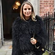 Newly engaged Vogue Williams seen leaving Tropical Popical nail salon on South William Street, Dublin, Ireland - 07.02.18. Pictures: Cathal Burke / VIPIRELAND.COM **IRISH RIGHTS ONLY**