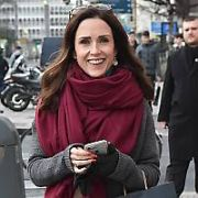 Maia Dunphy spotted walking past The Shelbourne Hotel, Dublin, Ireland - 08.02.18. Pictures: Cathal Burke / VIPIRELAND.COM **IRISH RIGHTS ONLY**