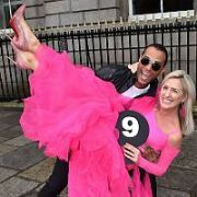 Photocall at RCSI to launch Battle of the Stars - a dance and lip sync fundraiser which takes place in Dublin's Clayton Hotel (Saturday 14th April) to raise funds for Breast Cancer Ireland, Dublin, Ireland - 19.02.18. Pictures: Cathal Burke / VIPIRELAND.COM **IRISH RIGHTS ONLY**
