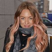 Eastenders actress Rita Simons & X Factor singer Lucie Jones spotted at Bord Gais Energy Theatre ahead of performing in musical Legally Blonde tonight, Dublin, Ireland - 05.03.18. Pictures: Cathal Burke / VIPIRELAND.COM **IRISH RIGHTS ONLY**
