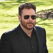 American billionaire and ex-Facebook president Sean Parker seen leaving The Merrion Hotel to talk to students at Trinity College's Philosophical Society, Dublin, Ireland - 07.03.18. Pictures: Cathal Burke / VIPIRELAND.COM **IRISH RIGHTS ONLY**