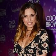 Amber Le Bon & celebrity tanning artist Chasidy McDowell join other VIP guests at the Cocoa Brown 'CocoaChella' launch Farrier & Draper, Dublin, Ireland - 13.03.18. Pictures: Cathal Burke / VIPIRELAND.COM **IRISH RIGHTS ONLY**