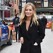 Laura Whitmore spotted walking past the flower sellers on Grafton Street, Dublin, Ireland - 15.03.18. Pictures: Cathal Burke / VIPIRELAND.COM **IRISH RIGHTS ONLY**