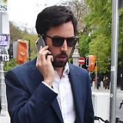Minister for Housing Eoghan Murphy TD spotted walking on St Stephen's Green, Dublin, Ireland - 04.05.18. Pictures: Cathal Burke / VIPIRELAND.COM **IRISH RIGHTS ONLY**