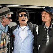 The Rolling Stones - Charlie Watts, Keith Richards, Ronnie Wood and Mick Jagger -  land at Dublin Airport ahead of their concert at Croke Park on Thursday, Dublin, Ireland - 13.05.18. Pictures: Cathal Burke / VIPIRELAND.COM **IRISH RIGHTS ONLY**