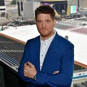 Michael Buble poses at Croke Park ahead of his concert there tomorrow night, Dublin, Ireland - 06.07.18. Pictures: Cathal Burke / VIPIRELAND.COM **IRISH RIGHTS ONLY**