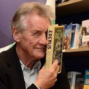 Michael Palin signs copies of his new book Erebus at Dubray Books on Grafton Street, Dublin, Ireland - 06.10.18. Pictures: G. McDonnell / VIPIRELAND.COM **IRISH RIGHTS ONLY**