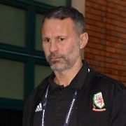 The Wales national football team & their manager Ryan Giggs at their Dublin hotel ahead of Ireland V Wales at The Aviva Stadium tonight as part of the UEFA Nations League, Dublin, Ireland - 16.10.18. Pictures: Cathal Burke / VIPIRELAND.COM **IRISH RIGHTS ONLY**