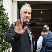 Jon Stewart & Dave Chappelle arrive at The Merrion Hotel ahead of playing the 3Arena tonight, Dublin, Ireland - 17.10.18. Pictures: Cathal Burke / VIPIRELAND.COM **IRISH RIGHTS ONLY**