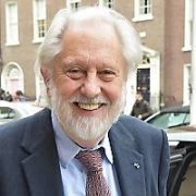 British Film Producer David Puttnam CBE spotted at The Merrion Hotel, Dublin, Ireland - 25.10.18. Pictures: Cathal Burke / VIPIRELAND.COM **IRISH RIGHTS ONLY**