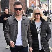 Shane Filan and wife Gillian Filan at The Merrion Hotel, Dublin, Ireland - 26.10.18. Pictures: Cathal Burke / VIPIRELAND.COM **IRISH RIGHTS ONLY**