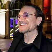 Bono stops and signs autographs for fans outside 3Arena ahead of U2's second gig at the venue, Dublin, Ireland - 06.11.18. Pictures: Cathal Burke / VIPIRELAND.COM **IRISH RIGHTS ONLY**