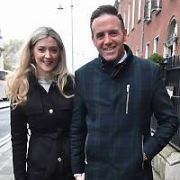 Various personalities spotted in the vicinity of The Merrion Hotel including Sean Gallagher, Jenny Dixon, Tom Neville, Kevin Godley and Eoghan Murphy, Dublin, Ireland - 07.11.18. Pictures: Cathal Burke / VIPIRELAND.COM **IRISH RIGHTS ONLY**