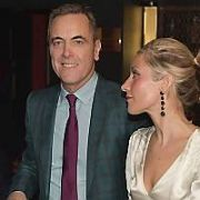James Nesbitt & his rumoured girlfriend Katy Gleadhill attend the launch of The Grafton Barber Essential Guide to Grooming and Etiquette by Conor McAllister, Hugh McAllister and Caitlin McBride at Eveleigh Gardens, Dublin, Ireland - 15.11.18. Pictures: Jerry McCarthy / VIPIRELAND.COM **IRISH RIGHTS ONLY**
