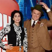 John C Reilly & Sarah Silverman attend the Irish Premiere of Ralph Breaks the Internet at The Lighthouse Cinema, Dublin, Ireland - 21.11.18. Pictures: G. McDonnell / VIPIRELAND.COM **IRISH RIGHTS ONLY**
