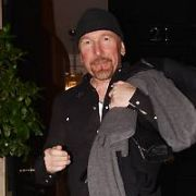 The Edge spotted leaving Patrick Guilbaud Restaurant after dining with former U2 manager Paul McGuinness and wife Kathy Gilfinnan, Dublin, Ireland - 20.12.18. Pictures: Cathal Burke / VIPIRELAND.COM **IRISH RIGHTS ONLY**