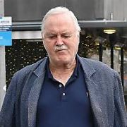 John Cleese spotted walking on Hanover Quay, Dublin, Ireland - 09.01.19. Pictures: Cathal Burke / VIPIRELAND.COM **IRISH RIGHTS ONLY**