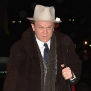 John C Reilly checks in to The Merrion Hotel, Dublin, Ireland - 11.01.19. Pictures: Cathal Burke / VIPIRELAND.COM **IRISH RIGHTS ONLY**