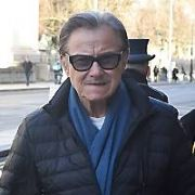 Harvey Keitel, Gabriel Byrne & others spotted at The Merrion Hotel, Dublin, Ireland - 16.01.19. Pictures: Cathal Burke / VIPIRELAND.COM **IRISH RIGHTS ONLY**